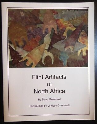 Flint Artifacts of North Africa Book Prehistory Sahara Archaeology