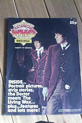 Doctor Who Winter Special 1977 SUPERB CONDITION