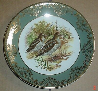 Weatherby Royal Falcon Ware Collectors Plate Woodcock