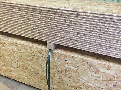 2400x600x18mm OSB3 TG4E Roofing Free delivery available minimum order applies