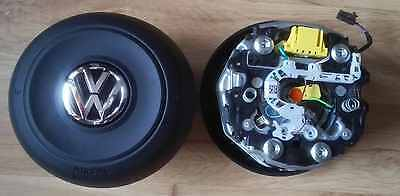 Original Round Driver Airbag Vw Scirocco With Multifunction 5G0880201J