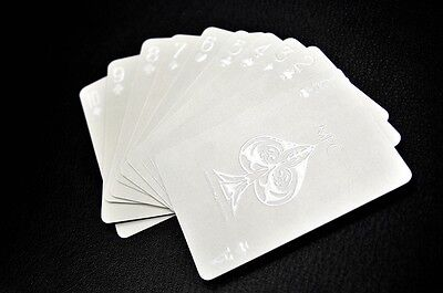 Impressions White Phantom Poker Rare Limited Custom Playing Cards Deck