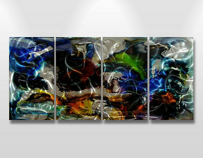 Abstract paintings wall Art Original metal sculpture Contemporary Large sign