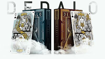 Dedalo Alpha & Omega Rare Limited Custom Poker Playing Cards Mythical 2 Deck Set