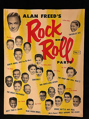 Alan Freed's Rock And Roll Party-Book-Fats Domino-Carl Perkins-Bill Haley
