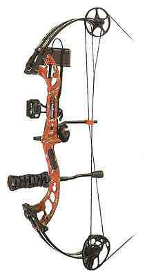 PSE Stinger X RTS Compound Bow Kit Red 70#