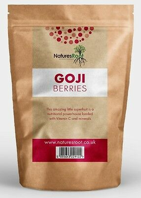 Premium Sun Dried Goji Berries - Best Tasting Berry Superfood - ALL SIZES