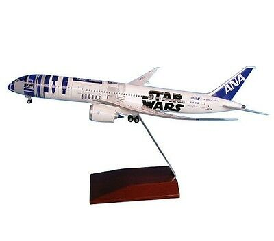 NH20092 1:200 B787-9 JA873A R2-D2 ANA JET Model Plane STAR WARS With Tracking