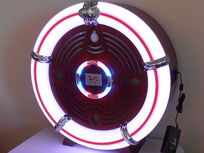 Large Retro Ball Reproduction JUKEBOX CD AM/FM Radio USB, SD Card, Blutooth