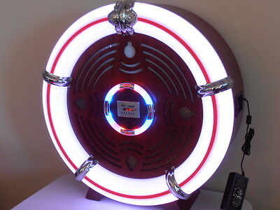 WOW Large Retro Ball Reproduction JUKEBOX CD AM/FM Radio USB, SD Card, Blutooth