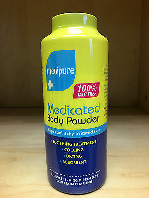 Medipure Medicated Body Powder 100% Talc Free
