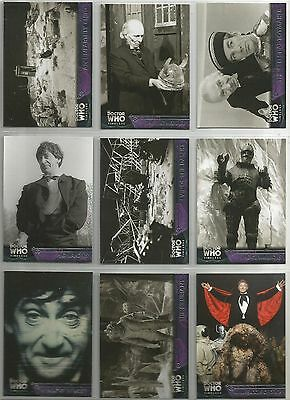 Doctor Who Dr. Who TIMELESS trading card set (Topps 2016) + 5 insert sets