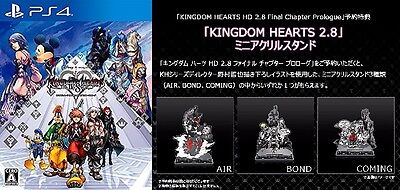 PS4 Kingdom Hearts HD2.8 Final chapter Limited with random one acrylic stand