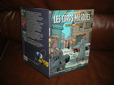 Canal Choc N°3 Les Corps Masques - Edition Originale 1991 Notee Premiere Edition
