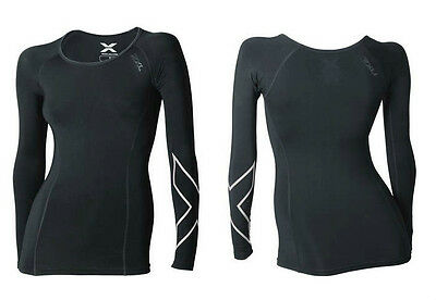 New 2XU Women Thermal Compression Long Sleeve Top Jersey All Sizes FREE SHIPPING