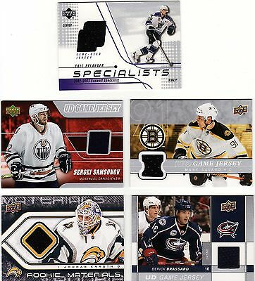 100 X Different Nhl Cards, Random Lot, Includes Auto'd + Jersey Card, Great Lot.