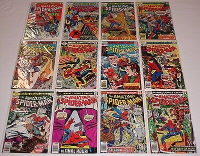 **amazing Spider-Man #163-280 Complete Run Lot With Nice Keys**194, 238, 252**