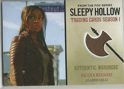 SLEEPY HOLLOW SEASON 1 trading card AUTHENTIC WARDROBE M01 NICOLE BEHARIE (2015)
