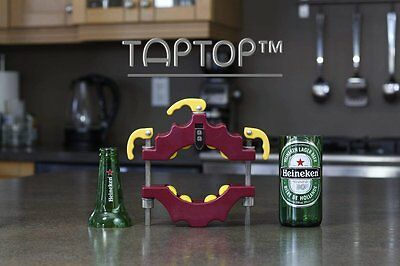 TapTop Glass Bottle Cutter Tool Cutting Kit Machine Jar Beer Wine Vodka Glass
