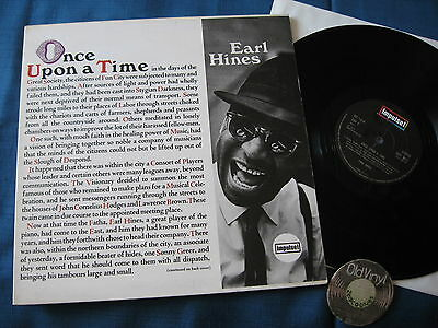 LP Earl Hines Once Upon a Time 1966 UK  ||  IMPL 8011