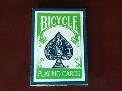 Bicycle Twilight Green Blue Rare Limited Custom Playing Cards - Magic Poker Deck