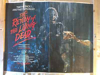 The Return of the Living Dead - Genuine Movie Poster