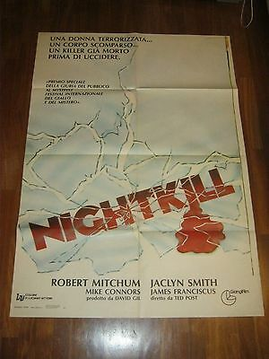 MANIFESTO,Nightkill  Robert Mitchum  Franciscus, Smith,Connors TED POST Thriller