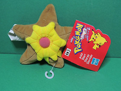 #120 Stari / Staryu mini peluche Pokemon Nintendo 2000 Hasbro Plush soft toy