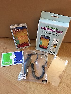Samsung note 3 Essential Pack Bundle Accessories In-car Case Screen Protector