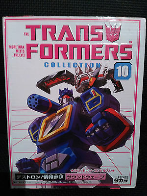 Transformers G1 SOUNDWAVE with LASERBEAK Takara Collection 10