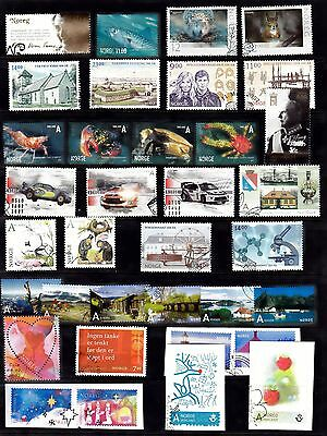 2007 Year Set Of Vfu Sets And Singles Inc M/s (19) From Norway Oslo Handstamps.