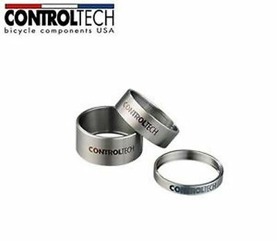 """ControlTech Titanium Spacer for 31.8 (1 1/8"""")  Steer tube 10mm"""