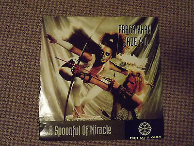 """Praga Khan - Injected With a Poison 12"""" vinyl EP 1993"""