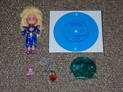1986 Hasbro Moon Dreamers Sparky Dreamer Doll Complete with Record