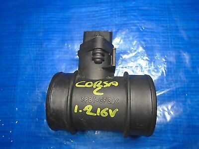Vauxhall Corsa C 1.2 16V  Air Mass Flow Meter 2001 To 2006 Shape