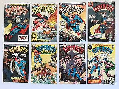 Superboy 8 Issue Run #165 166 167 168 169 170 171 172 Fn ~ Dc Silver Age Comics