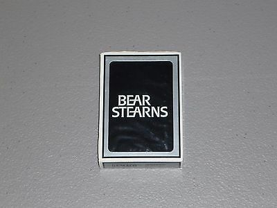 Bear Stearns Playing Cards