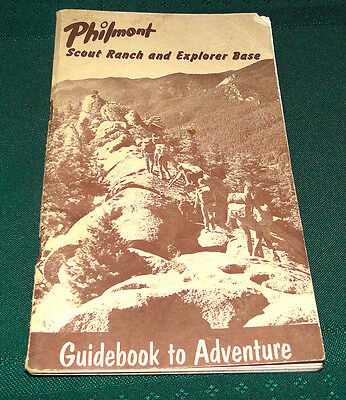 Vtg Boy Scout Philmont Guidebook to Adventure 60s 70s
