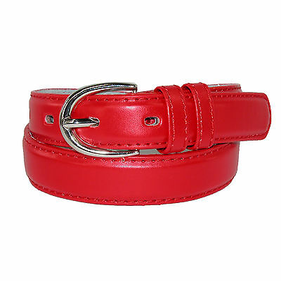 New CTM Toddlers Basic 1 Inch Leather Belt