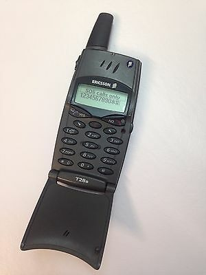 Vintage Cell Phone Collectible Ericsson T28 T28s WORKS!! UNLOCKED