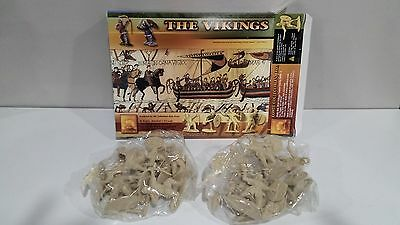Conte Vikings Set #2 16 Figures New Boxed/Bagged Unplayed
