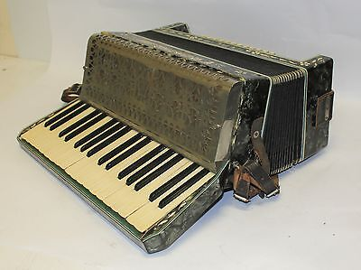 Frontalini Italia Accordion / Piano Keyboard Musical Instrument In Case #242433