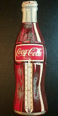 Scarce Old Canadian Coca-Cola Bottle Advertising Thermometer