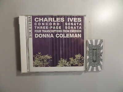 Concord Sonata / Three-Page Sona [Audio-CD]. Coleman, Donna and Charles Ives: