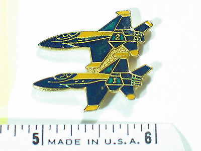 Blue Angel Aricraft Pin 2 Blue Angel Formation Military Airplane PIn , (**)*