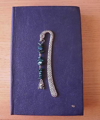 NEW Dragon Bookmark with Money Toad Feng Shui metal Frog charm