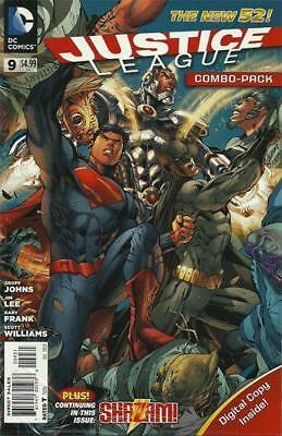 Justice League #9 (Vol 2) New 52 Combo Pack Variant