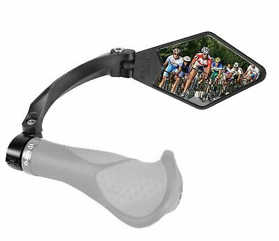 Venzo Bicycle Bike Handlebar Stainless Steel Mirror Right