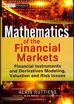 Mathematics of the Financial Markets by Alain Ruttiens Hardcover Book (English)