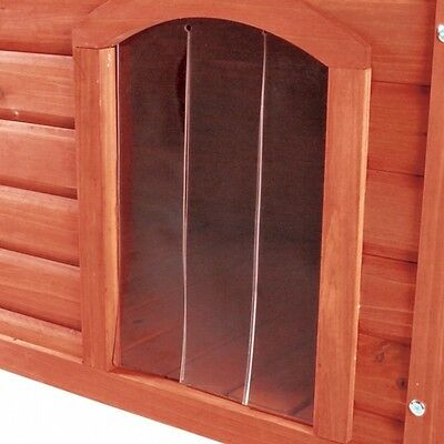 Trixie Plastic door for natura Flat roof dog house, various sizes, NEU
